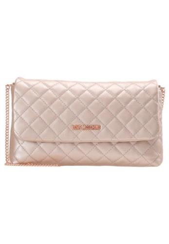 Love Moschino QUILTED BIG CROSSBODY Skuldertasker rame
