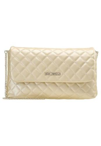 Love Moschino QUILTED BIG CROSSBODY Skuldertasker oro