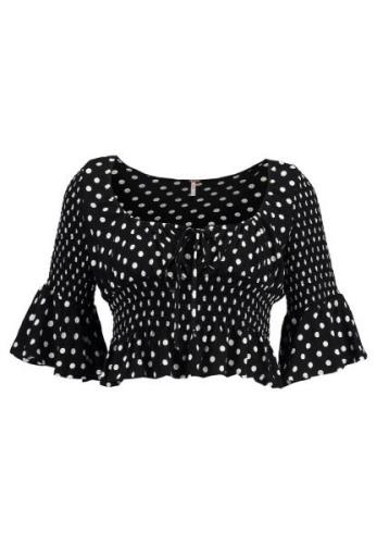Free People A BIT OF SOMETHING SWEET Bluser black combo