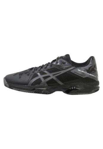 ASICS GELSOLUTION SPEED 3 CLAY Udendørs tennissko black/dark grey/carb...