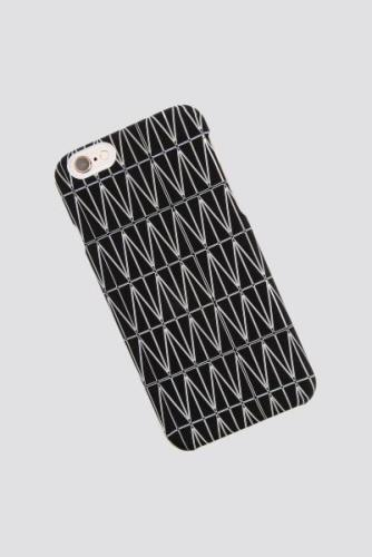 Dagmar Grid iPhone 7/8 Case - Black