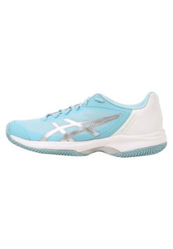 ASICS GEL COURT SPEED CLAY Udendørs tennissko porcelain blue/silver/wh...