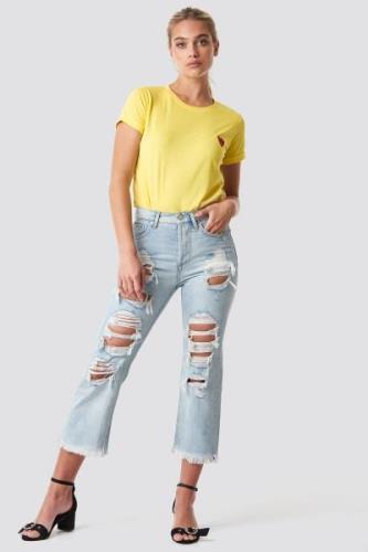MANGO Bella Jeans - Blue