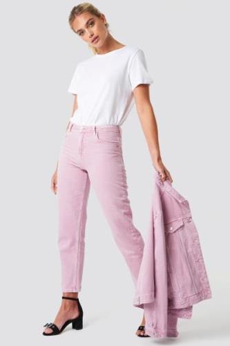 MANGO Malva Jeans - Pink