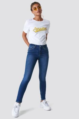 MANGO Olivia Jeans - Blue