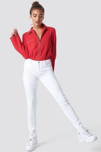 MANGO Paty Jeans - White
