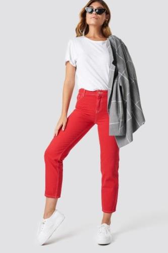 MANGO Claudia Jeans - Red