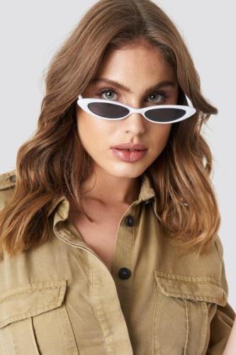 MANGO Alanis Sunglasses - White