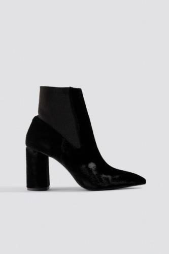MANGO Laila Ankle Boots - Black