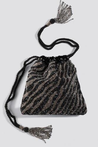 MANGO Cebra Mch Bag - Black