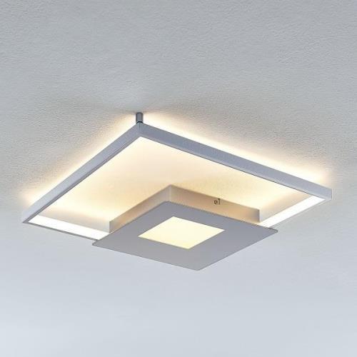 LED-loftlampe Anays, kantet, 42 cm