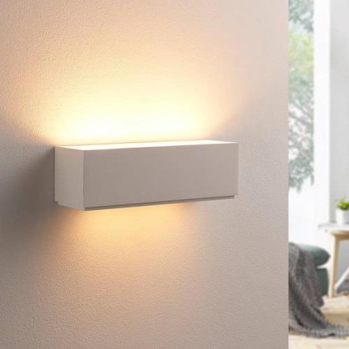Enkel gipsvæglampe Benno, G9 LED