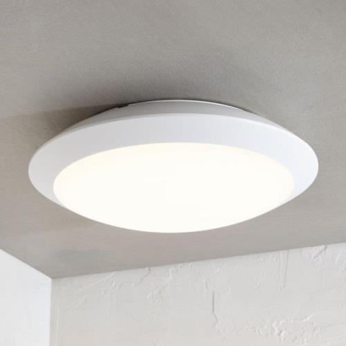 Udendørs loftlampe Naira m. LED, hvid, uden sensor