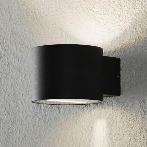 Udendørs væglampe Chantal i cylinderform