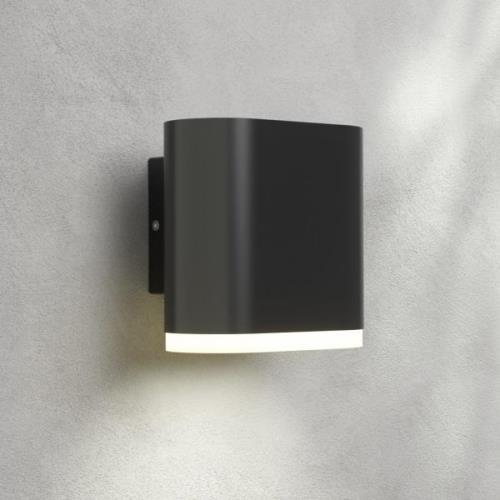Udendørs LED-væglampe Maurus, mørkegrå, 1 lyskilde