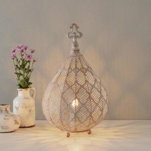 Orientalsk designet LED bordlampe Nabila