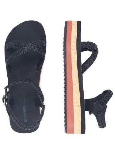O'Neill Batida Platform Sandals sort
