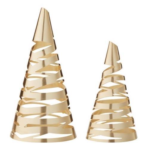 Stelton-Tangle Christmas Trees 2-Pcs, Brass